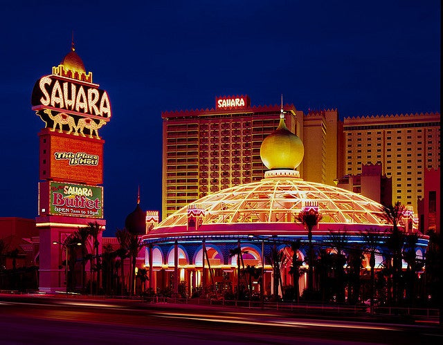 Sahara Hotel & Casino Returns to the Desert Sands