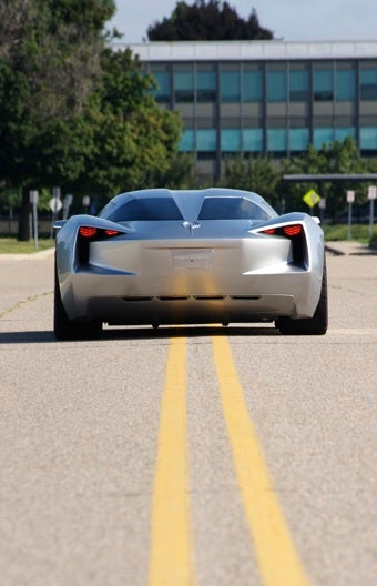 Stingray Concept: Transformers Corvette A High-Tech Hybrid Super Car