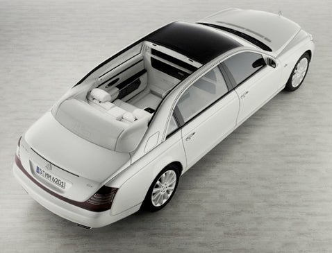 Maybach 62 Landaulet Goes Into Production Because We Said It Wouldn't