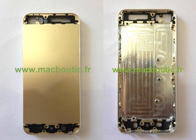 El iPhone 5 dorado podría existir... ¿en la web de Apple?