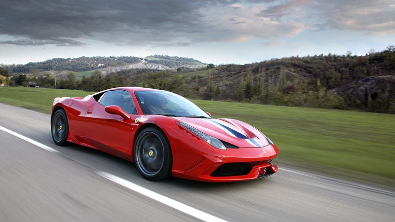 The 458 Speciale is an adrenaline shot shaped like a sex toy