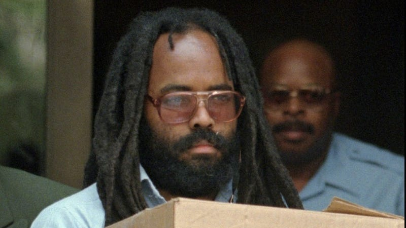 Inescapable 'Free Mumia' Signs Finally Do Something Good