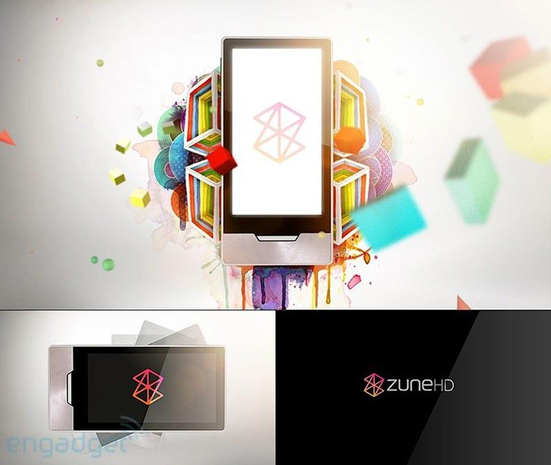 Leaked Artwork Reveals Touchscreen Zune HD
