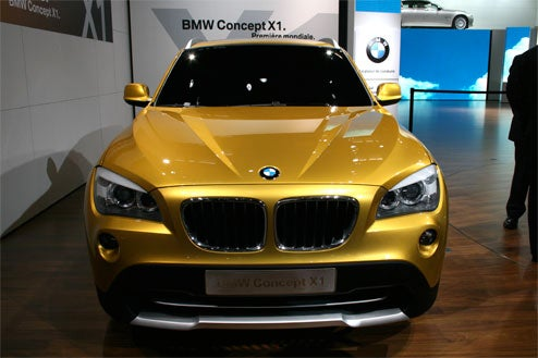 BMW Concept X1 Shows Paris Visitors BMW's Continued Crossover Obsession