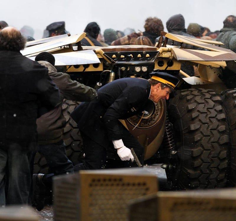 Dark Knight Rises Set Photos (SpoilerTV)