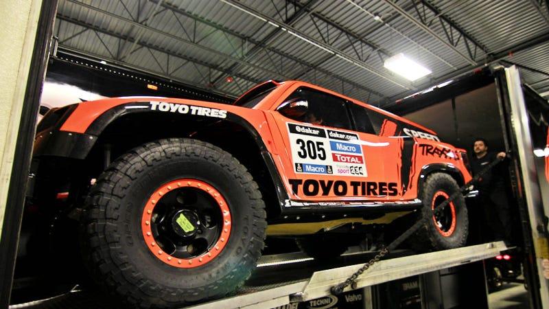 Robby Gordon's New Truck: 300 HP For Dakar, 1200 For The Street