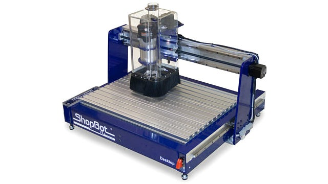 Desktop CNC Machine Lets You Build Stuff Out of More Than Just Plastic