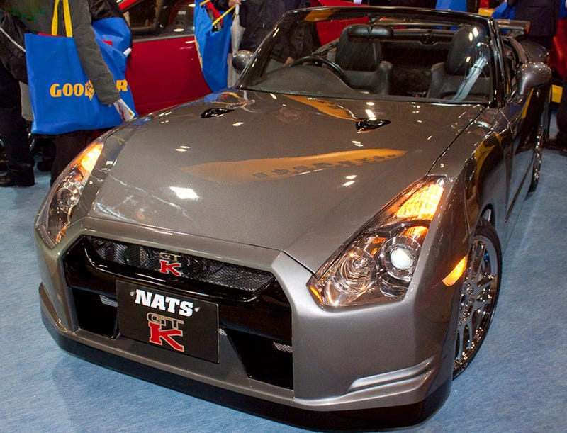 NATS GT-K: Horrifying Kei Car Nissan GT-R