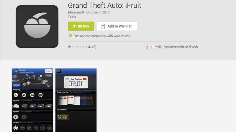 Don't Buy This Grand Theft Auto App on Android