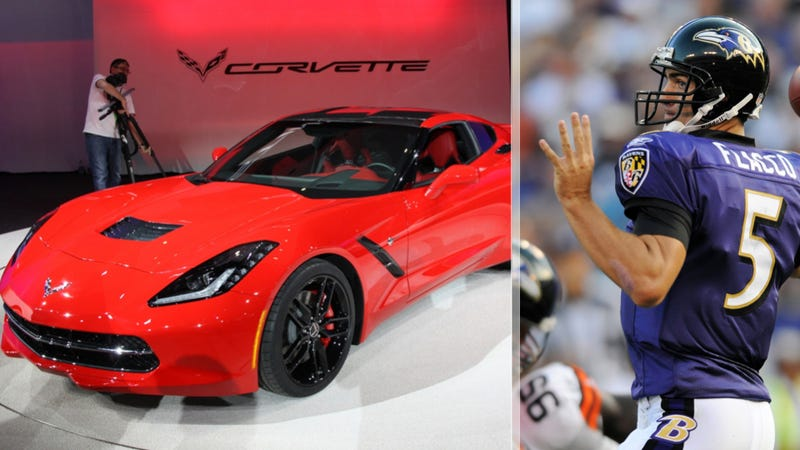 Joe Flacco Named Super Bowl MVP, Gets A 2014 Corvette