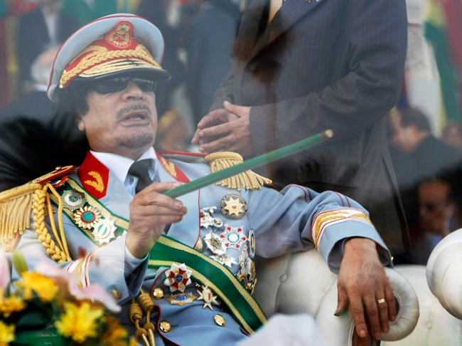 Qaddafi's 'Voluptuous' Nurse Is Leaving Him