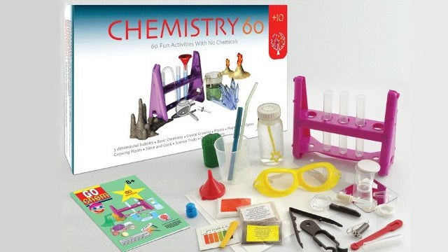 Bubble-Wrapped Kids Can Now Play With No-Chemicals Chemistry Sets