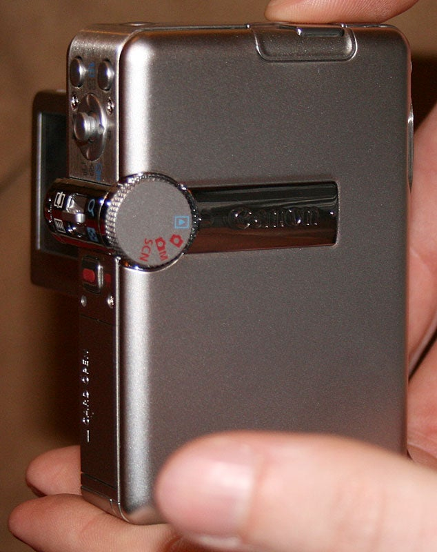Canon Powershot TX-1 Hands-On With 720p in the Palm of Your Hand