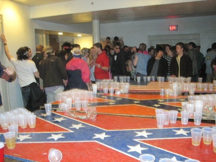 UVA Law Students Love Confederate Flag Beer Pong
