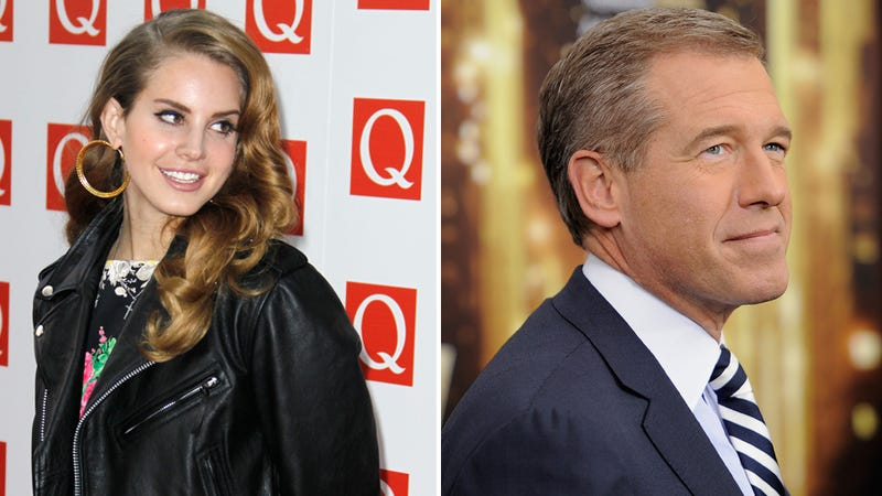 Lana Del Rey Is Waiting for Brian Williams to Apologize