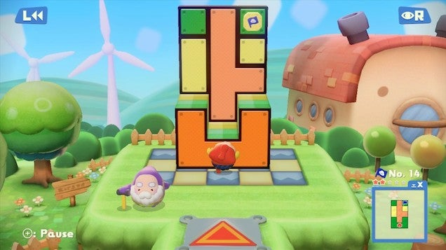 Pushmo World Is My Favorite Kind Of Puzzle Game