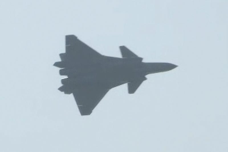 China's New J-20 Stealth Fighter Makes Its Public Debut, But the U.S. Isn't Impressed