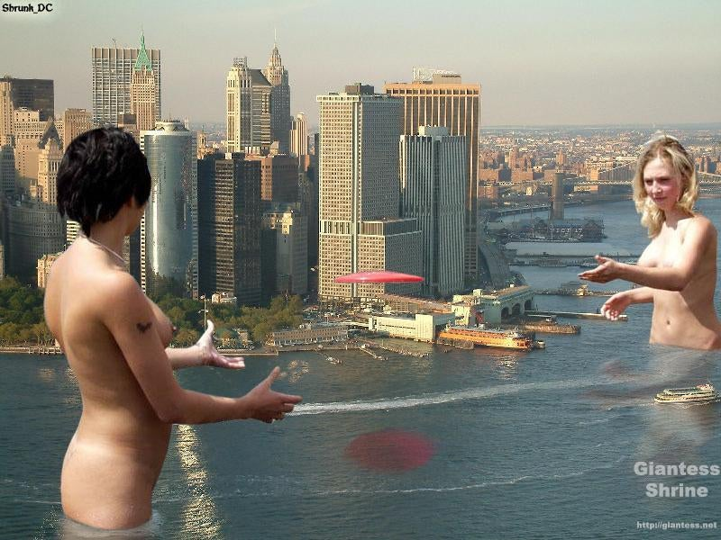 Giantess Photos And Photomanips: My, What Big Everything You Have