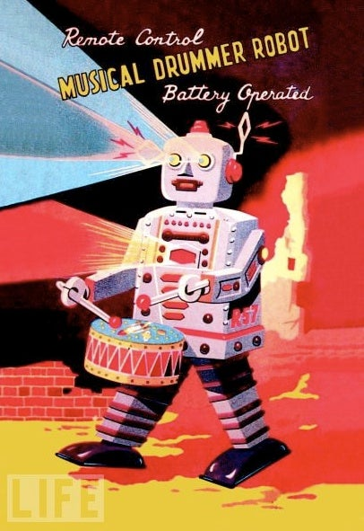 The Trippy Robot Toys of Yesteryear