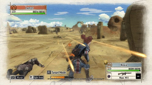 Frankenreview: Valkyria Chronicles