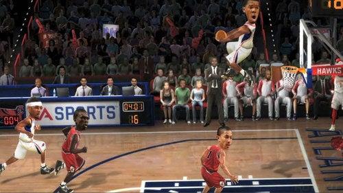 Ten Seconds Of NBA Jam Footage