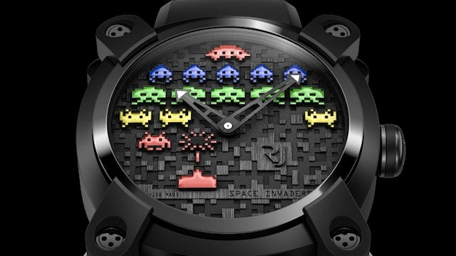 A Space Invader Watch Is Pretty Much a Must Have for the Grown Up Geek