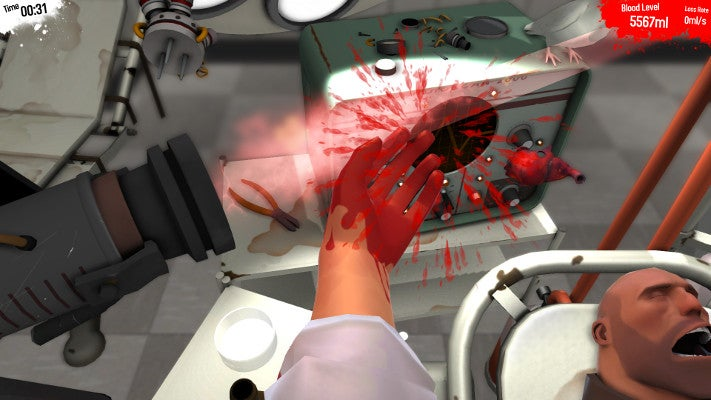 Live Out Your Medic Fantasies By Performing Surgery on TF2's Heavy