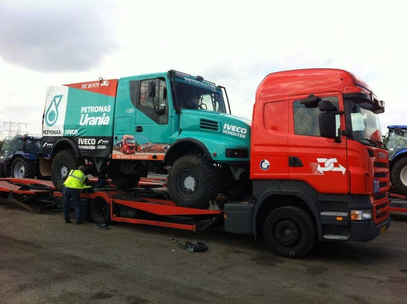 Dakar 'Big Truck' Racing At The Baja 500, If They Remember To Sign Up