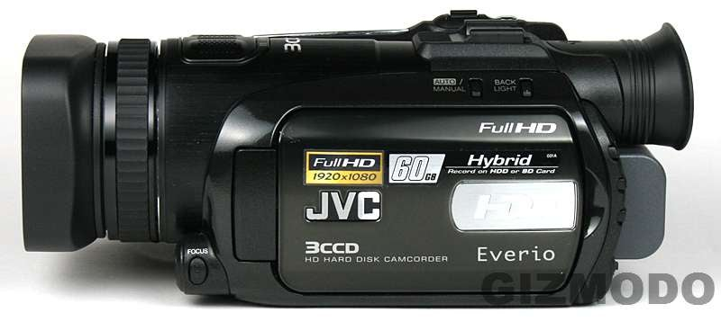 JVC HD Everio GZ-HD7 Hands On
