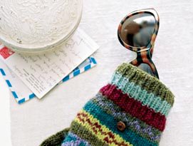 Use Old Mittens To Protect Your Sunglasses
