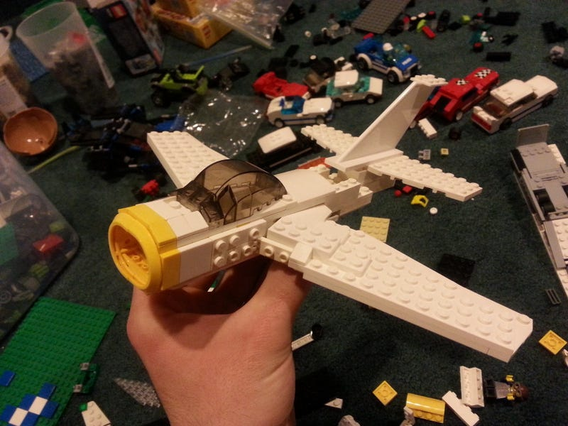 The Sabre isn't as easy to build as I thought...