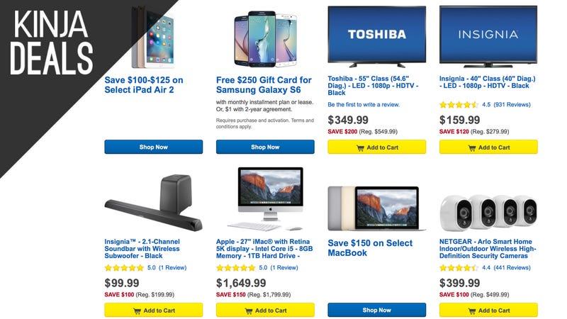 "Best Buy's ""Early Black Friday Sale"" Is Actually Pretty Great"
