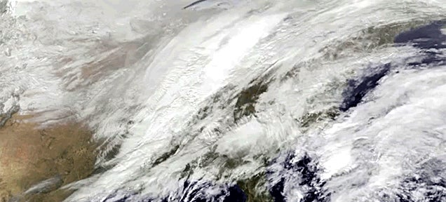 All the winter storms of 2014 in one NASA time-lapse video
