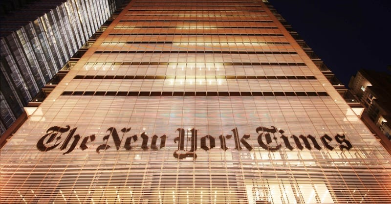 Who Broke the Speaking Rules at the New York Times?