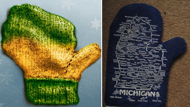Dumbest War Ever Erupts Over Which State Looks Most Like a Mitten