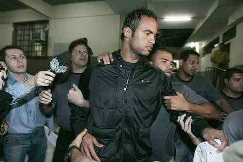 Brazilian Football Star Arrested for Feeding His Mistress to Dogs