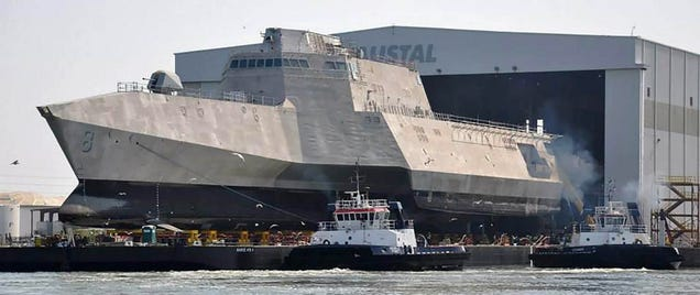 These US Navy warships are really starting to look like Star Destroyers