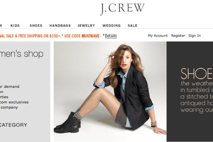 J. Crew and the Case of the Hairy Legs
