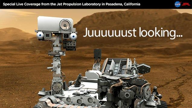 Mars Curiosity Brain Transplant Complete