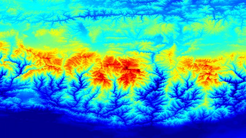A Super-Accurate Gravity Map Shows You Where You Can Weigh Less
