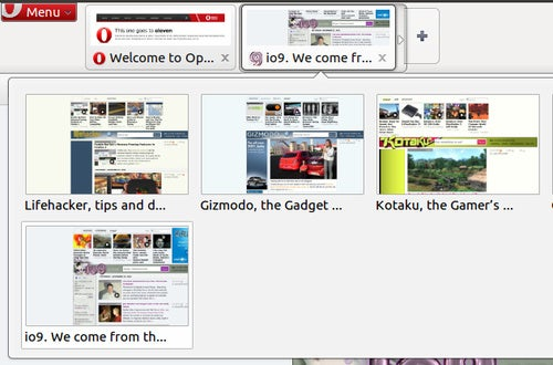 Opera 11 Beta Introduces Tab Stacking for Customized Grouping