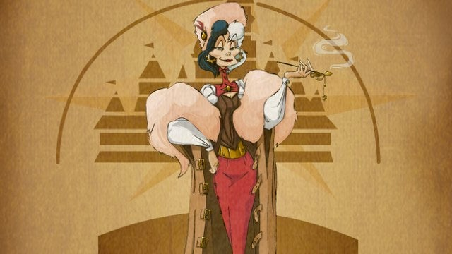 Classic Disney villains redrawn as steampunk baddies