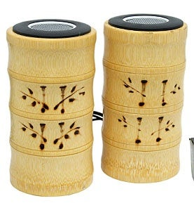 Bamboo Speakers Aren't Just For Looks, Are Really Made of Bamboo