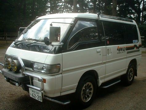 Mitsubishi Delica Space Gear SUPER EXCEED!