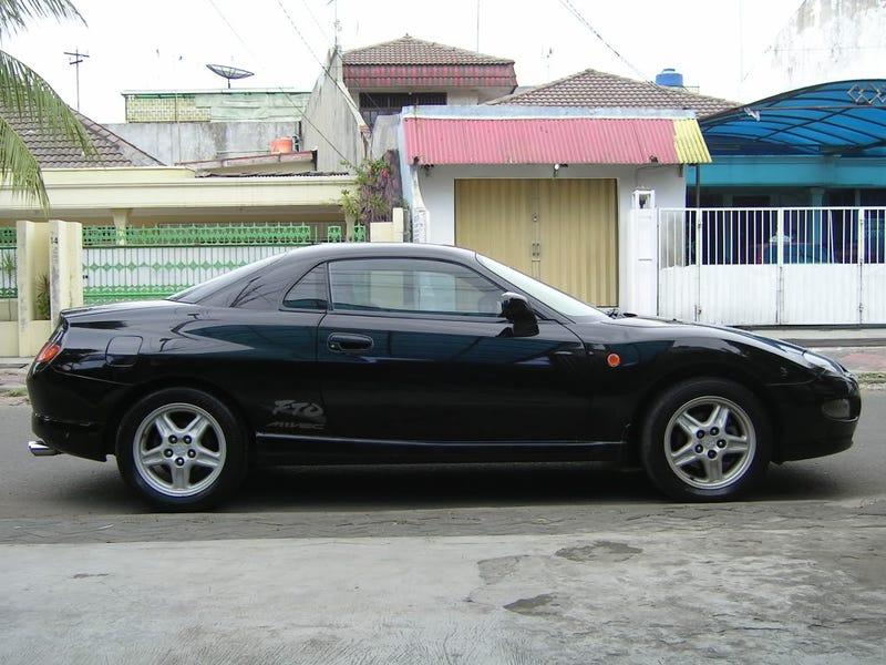 Quickride: 1998 Mitsubishi FTO GPX.