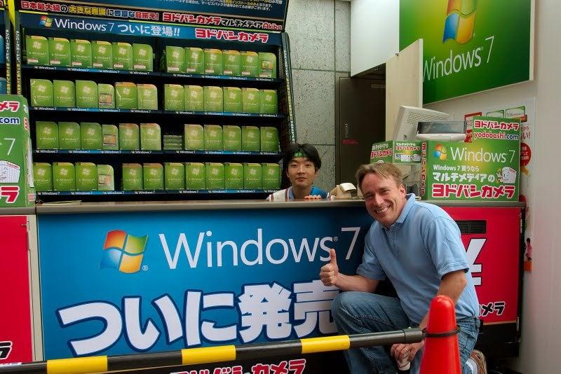 Linux Legend Loves Some Windows 7
