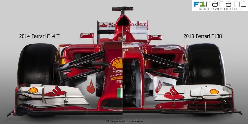 Why I don't give a bucket of warm owl spit how bad F1 cars look