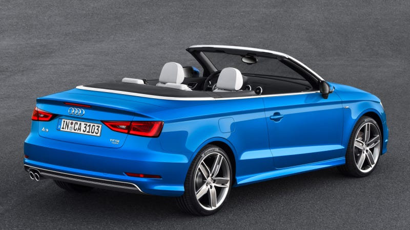 The 2015 Audi S3 Cabriolet Loses A Roof And Gets 300 HP And AWD