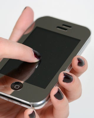 Ivyskin Xylo T2 Reflect Chrome iPhone Case == Touchscreen Your iPhone Through a Hard Shell
