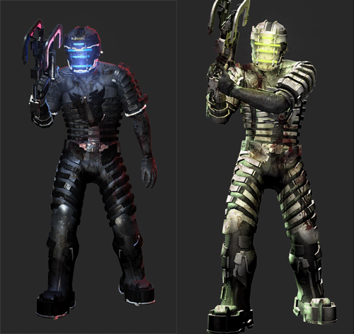 Dead Space Gold, Platform Exclusive Suits For Launch Players